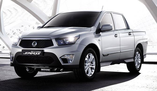 SsangYong Actyon Sports - бюджетный авто для бездорожья
